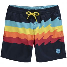 O'Neill PB Surfs Out Board Short zwembroek junior blue aop white blue