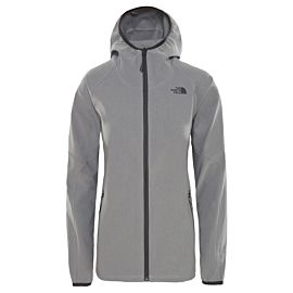The North Face Apex Nimble Hoodie vest dames tnf mid grey heather