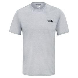 The North Face Reaxion AMP Crew T-shirt heren tnf light grey heather