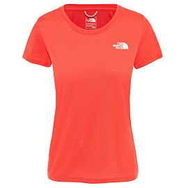 The North Face Reaxion AMP outdoor shirt dames juicy red