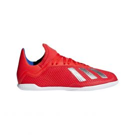 adidas X Tango 18.3 IN BB9396 zaalvoetbalschoenen junior active red silver metallic bold blue