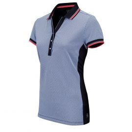 Sjeng Sports Aleaya tennispolo dames dark blue