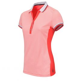 Sjeng Sports Aleaya tennispolo dames lightning coral