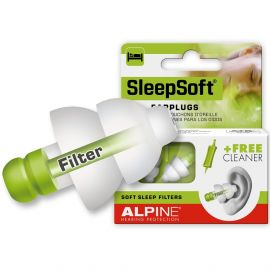 Alpine Hearing protection SleepSoft oordoppen