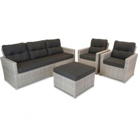 Bardani Florida loungeset 1 misty grey