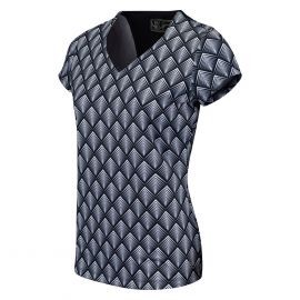 Sjeng Sports Birdini tennisshirt dames dark blue