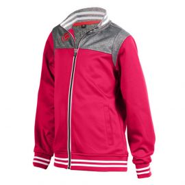 Brabo Tech Jacket trainingsjack junior red