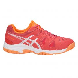 ASICS Gel-Game 5 GS tennisschoenen junior coralicious white orange