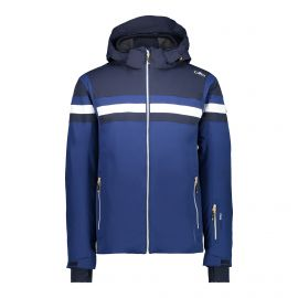 CMP Man Jacket Zip Hood 38W0617 winterjas heren marine