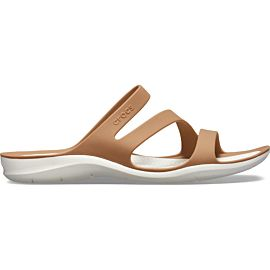 Crocs Swiftwater slippers dames bronze oyster