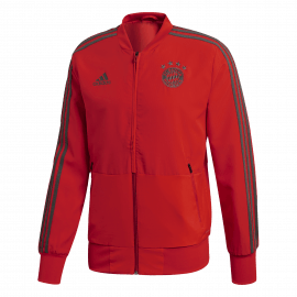 Adidas FC Bayern München trainingsjack heren red utility ivy