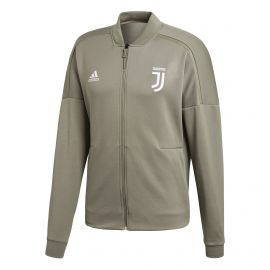 Adidas Juventus Z.N.E. trainingsjack clay white schuin