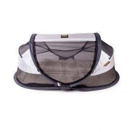 Deryan Travel Cot Baby Luxe campingbed silver