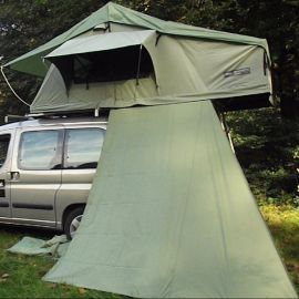 Dare to be Different Outdoor daktent schuifwand olive