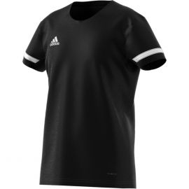 adidas Team19 voetbalshirt girls black white