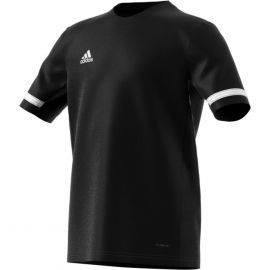 adidas Team19 voetbalshirt boys black white