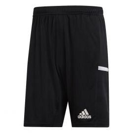 adidas Team19 Knit voetbalshort heren black white