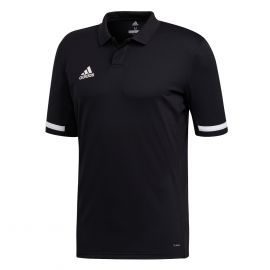 adidas Team19 poloshirt heren black white
