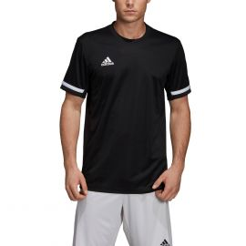 adidas Team19 voetbalshirt heren black white