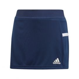 adidas Team19 skort rokje junior navy blue white