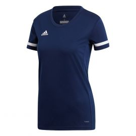 adidas Team19 voetbalshirt dames navy blue white