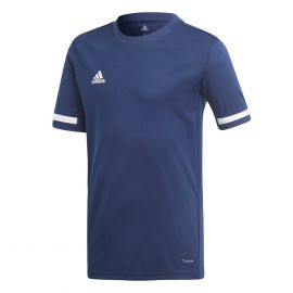 adidas Team19 voetbalshirt boys navy blue white