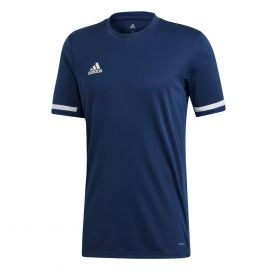 adidas Team19 voetbalshirt heren navy blue white