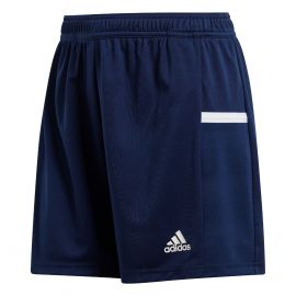 adidas Team19 Knit voetbalshort dames navy blue white