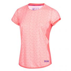 Sjeng Sports Elianesha tennisshirt dames carribean pink