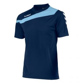 Hummel Elite voetbalshirt junior navy sky blue