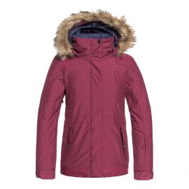 Roxy Tribe winterjas junior beet red