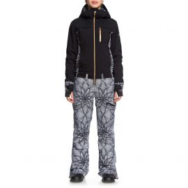 Roxy Illusion snowboardpak dames true black pop snow stars