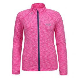 Li-Ning Flower midlayer trainingsjack dames pink