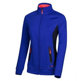 Sjeng Sports Ghissaine trainingsjack dames deep dark cobalt