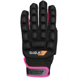 Grays International Pro hockeyhandschoen black neon pink
