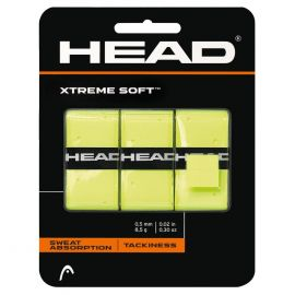 Head XtremeSoft 3-Pack overgrip yellow