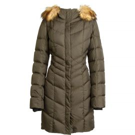 Bogner Kiara Down winterjas dames olive green