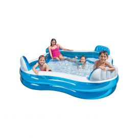 Intex Swim Center Family Pool zwembad vierkant