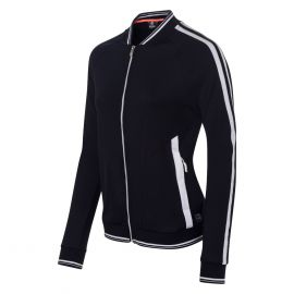 Sjeng Sports Laccar full zip top trainingsjack dames dark blue