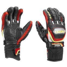 Worldcup Race TI S Speed System handschoenen heren black yellow red