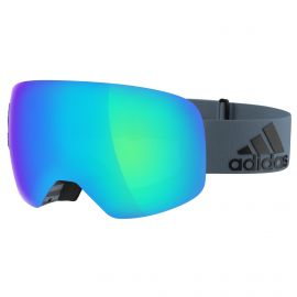 adidas Backland spherical Goggle skibril stripe raw steel