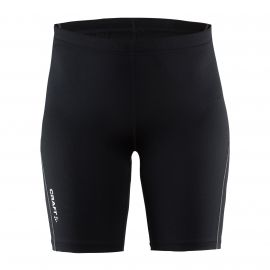 Craft Mind Short Tights hardloopbroek dames black voorkant