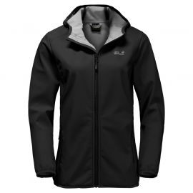 Jack Wolfskin Northern Point softshell dames black