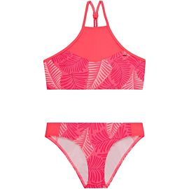 O'Neill High Neck bikini junior pink aop