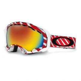 Oakley Splice skibril red white