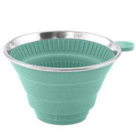 Outwell Collaps opvouwbare koffiefilterhouder turquoise