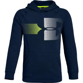 Under Armour Rival Logo hoody junior academy white
