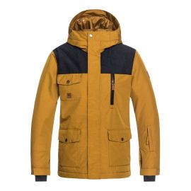 Quiksilver Raft winterjas junior golden brown