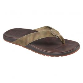 Reef Contoured Voyage LE slippers heren dark brown camo