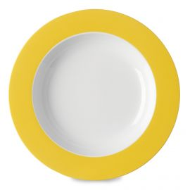 Rosti Mepal Wave diep bord latin yellow